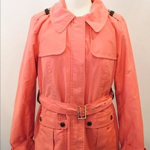 Women's Tommy Hilfiger pinkish coral jacket Sz M